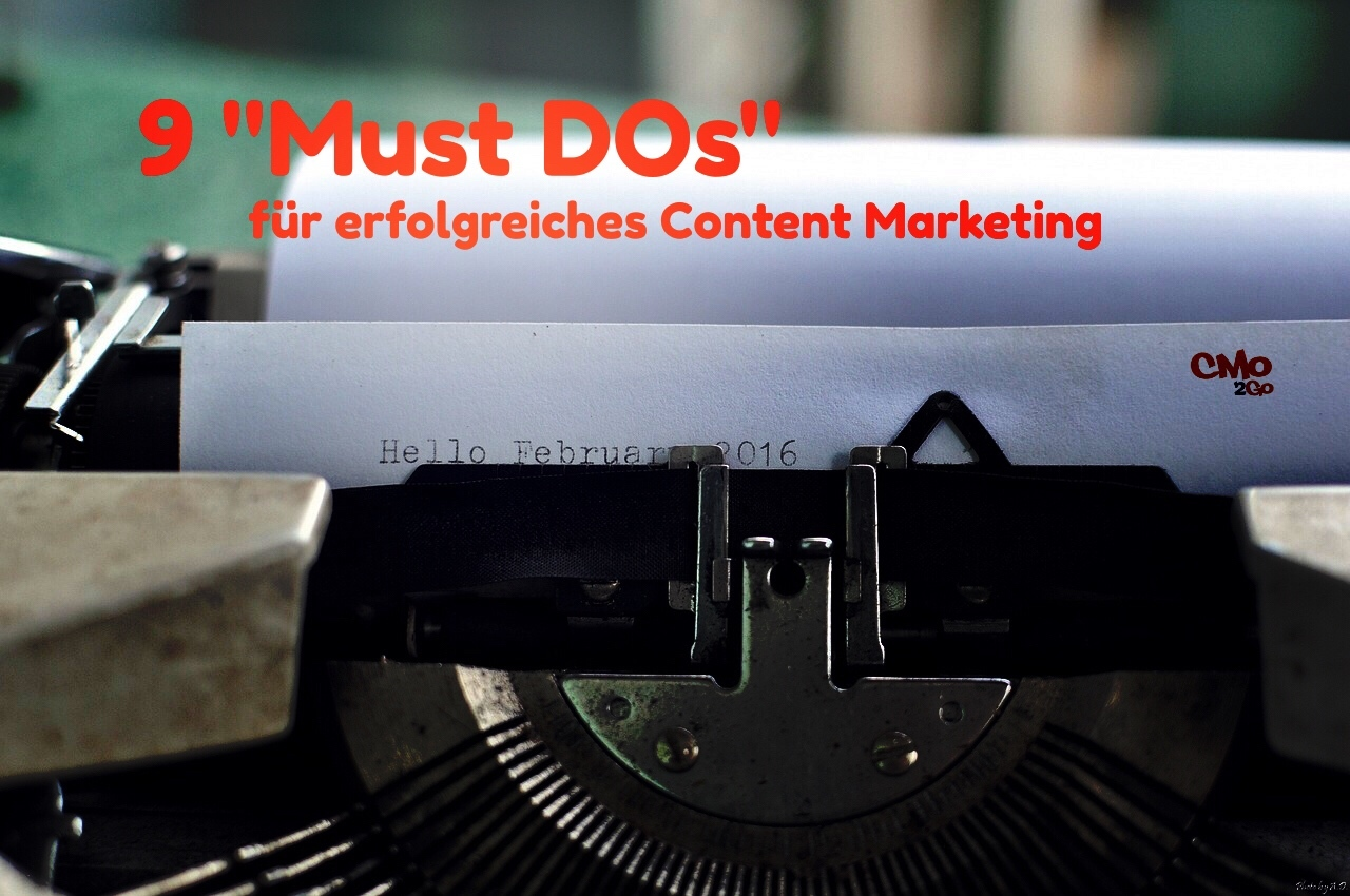 cmo2go.de , Content Marketing